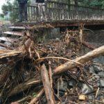 台風被害の復旧工事